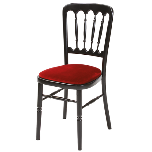 Black Frame Banqueting Chair