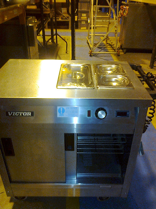 Small Hot Cupboard & Bain Marie Top (2KW)
