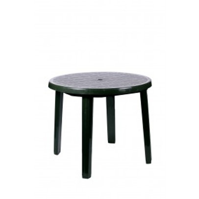 Green Plastic Round Tables (3FT)