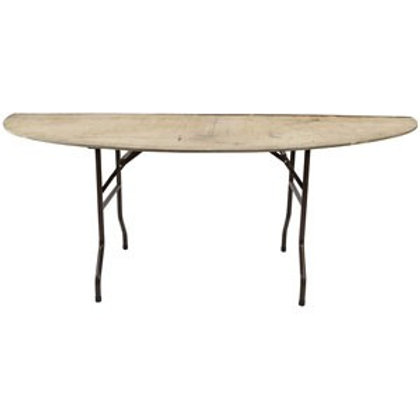 "5"" x 2.6"" Half Moon Semi-Circular Tables"