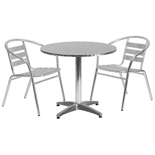 Aluminium Chairs with Arms