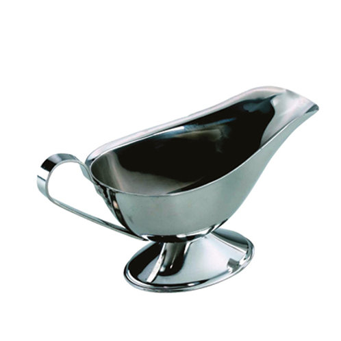Stainless Steel Sauce Boat 1/4 Pint