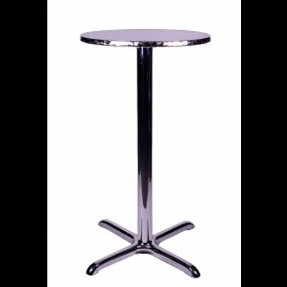 Aluminium Poseur Table