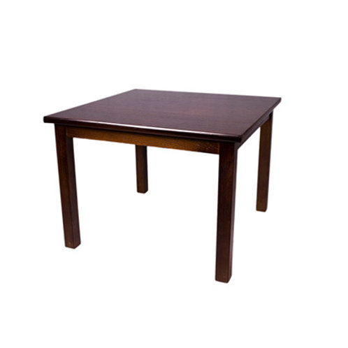 Square Coffee Table Dark Oak