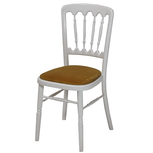 Silver Frame Banqueting Chair