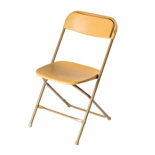 Gold Folding Chair