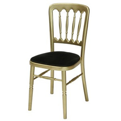 Gold Frame Banqueting Chair