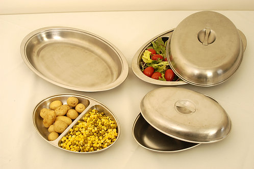 "Vegetable Dish Undivided 20"" (50cm)"