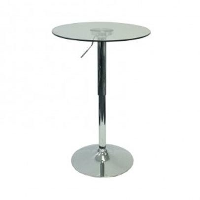 Moonlight Glass Poseur Table
