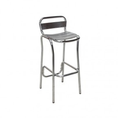 Aluminium Poseur Chair (Bar Stool)
