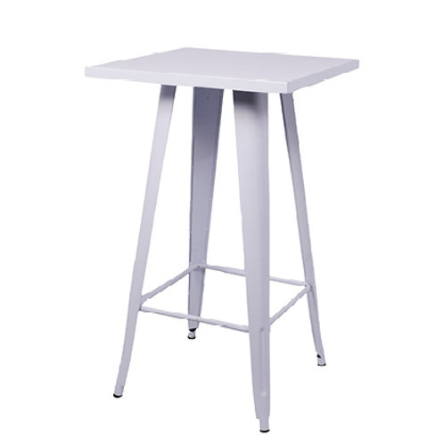 Ikon Poseur Table Silver