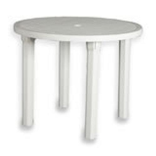 Round Patio Table 3' (90cm)