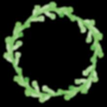 植物の花輪2