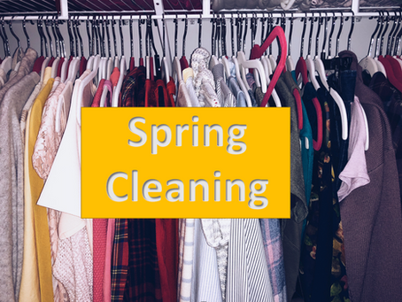 Time To Clean Your Closet