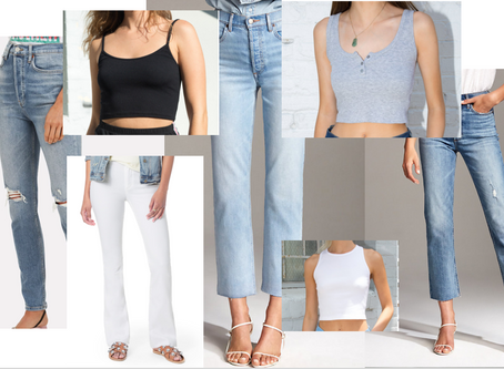 My Favorite Summer Jeans & What Tops To Wear With Them