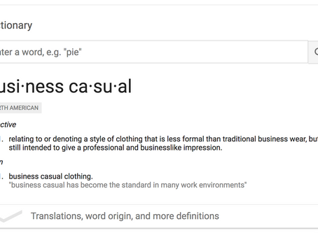 What Does Business Casual Even Mean???