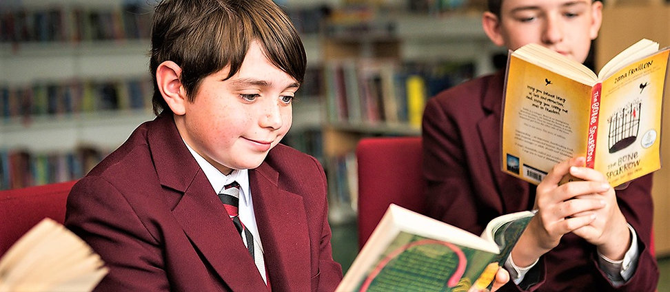 Picture of pupils reading a book each.jpg