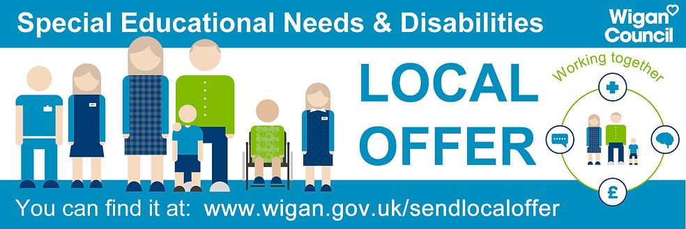 Wigan Council Special Educational Needs and Disabilities banner.jpg