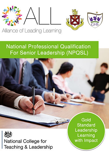 Cover of Training Manual National Professional Qualification for Senior Leadership (NPQSL).jpg