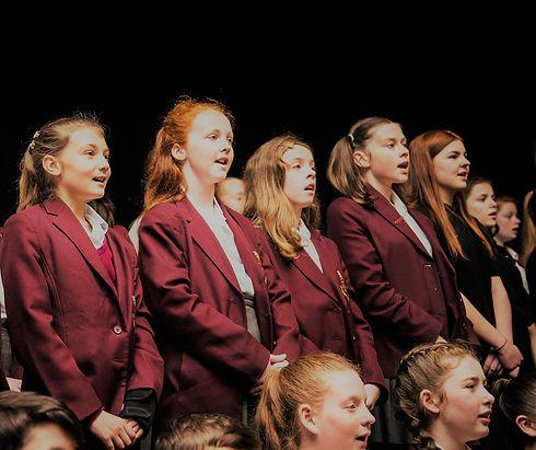 Image of Byrchall School Choir singing