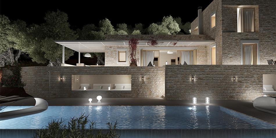 Nissaki Stone Villa