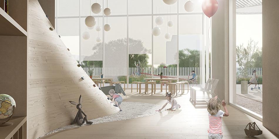 Kindergarten / Elderly Day Care Center
