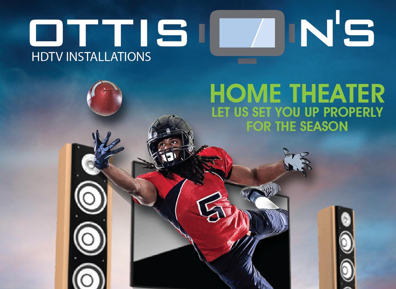 Ottison's HDTV Installations