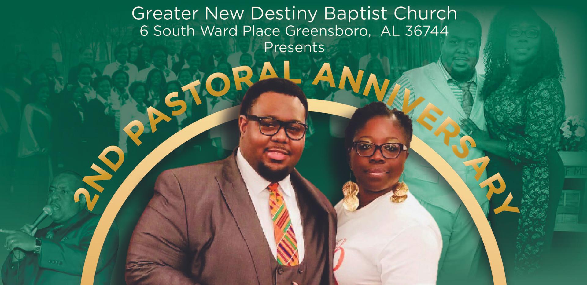 2nd Pastor Anniversary