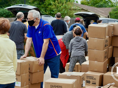 Food distribution by OKC Jewish community center meets growing need