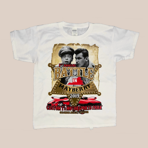 Custom T's Battle in Mayberry Sheriffs Shirt