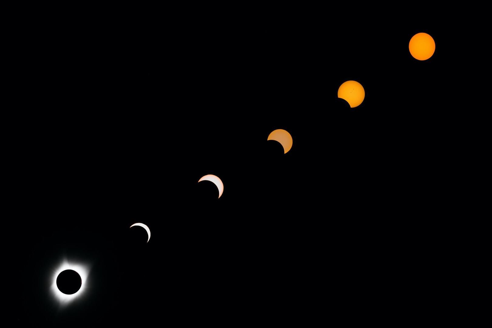 Max Goldstein- Total Solar Eclipse, Augu