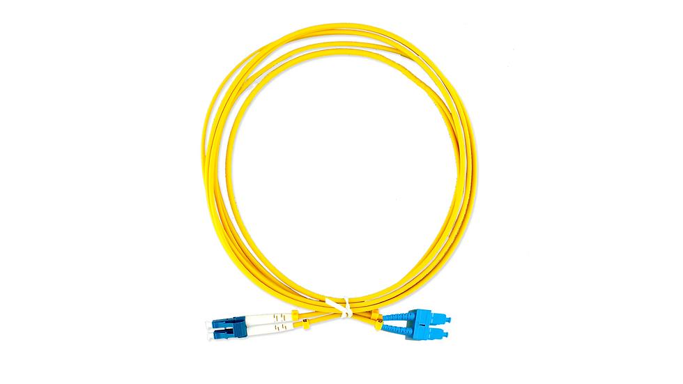 Cordão Óptico Duplex LC/UPC - SC/UPC