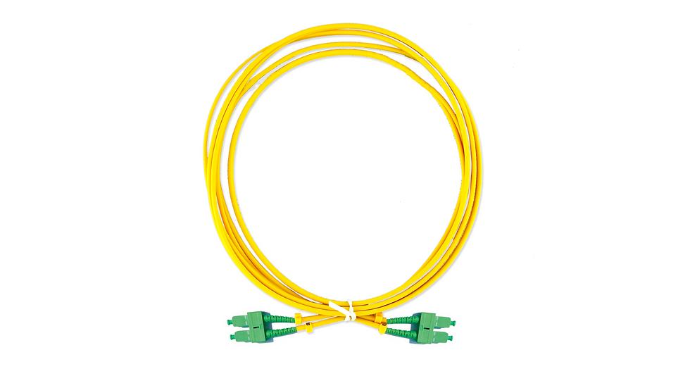 Cordão Óptico Duplex SC/APC - SC/APC