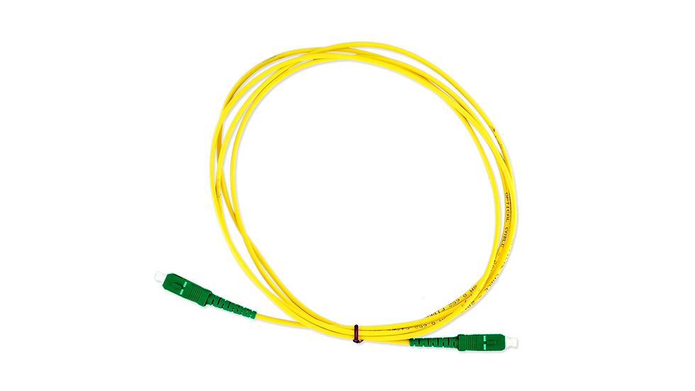 Cordão Óptico Simplex SC/APC - SC/APC