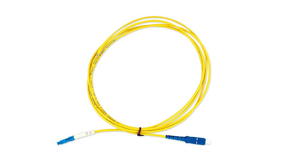 Cordão Óptico Simplex LC/UPC - SC/UPC