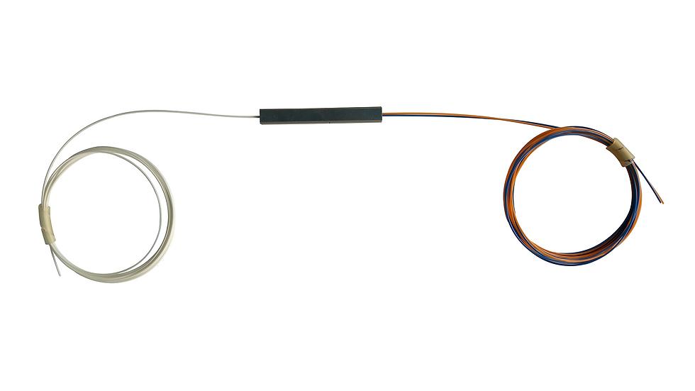 Splitter Óptico 1x2 Desbalanceado 25%-75%