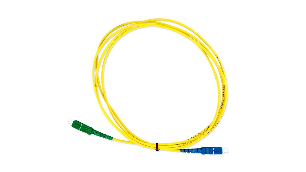 Cordão Óptico Simplex SC/APC - SC/UPC
