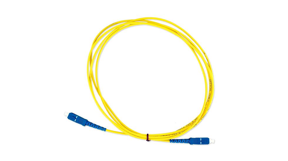 Cordão Óptico Simplex SC/UPC - SC/UPC