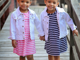 The Martin twins just shot with I Love Plum for L'Official Enfant