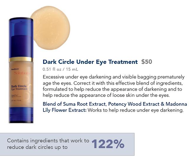 Dark Circle Under Eye Treatment