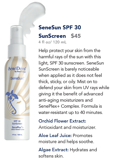 SeneSun SPF 30 SunScreen