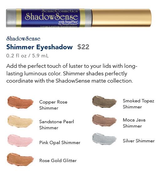ShadowSense Shimmer Eyeshadow