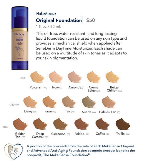 MakeSense Original Foundation