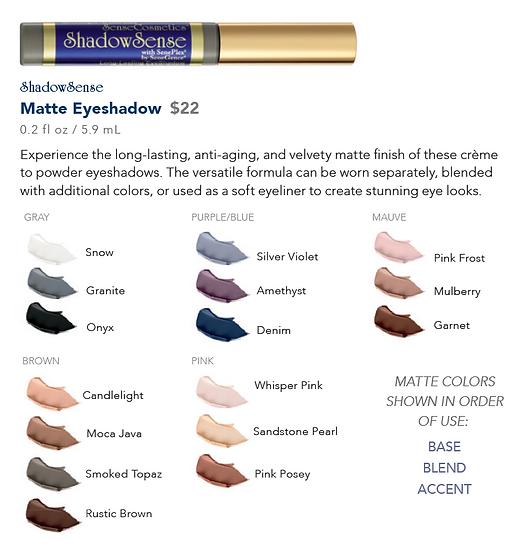 ShadowSense Matte Eyeshadow