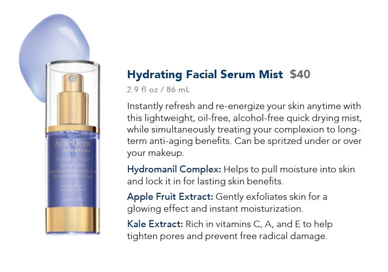 Hydrating Facial Serum Mist