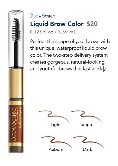 BrowSense Liquid Brow Color