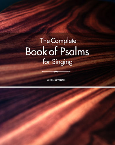 Cover 2 - The Complete Book of Psalms fo