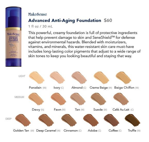 MakeSense Advanced Anti-Aging Foundation