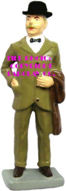 #092 - Man w/ Overcoat & Derby