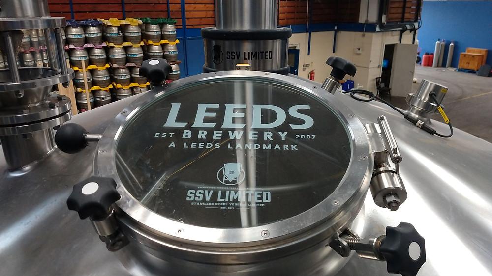Leeds Brewery's self-cleaning mash tun